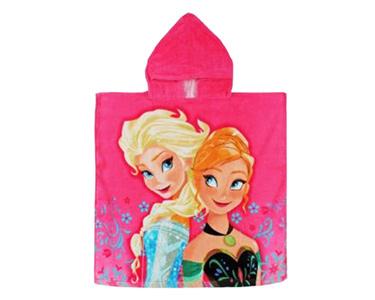 Poncho Infantil 60x120 cm | Princesas Frozen