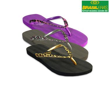 Chinelos Brasileras® Flip-Flop Miau | Escolha a Cor