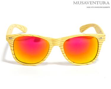 Óculos de Sol Musaventura Detroid Woody | Escolha a cor