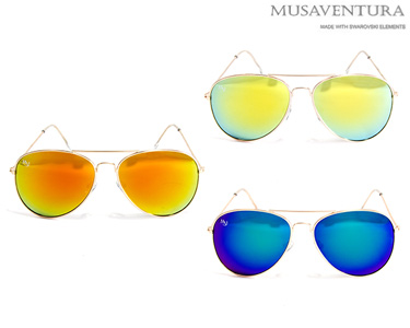 Óculos de Sol Musaventura Clifton   Escolha a Cor
