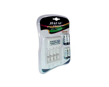 Carregador de Pilhas AA/AAA/9V