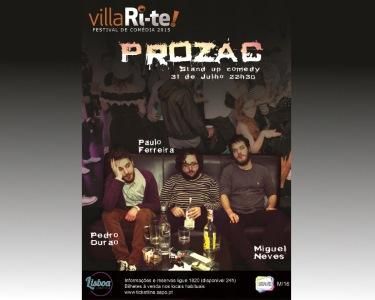 «Prozac» | 31 de Julho | VillaRi-te | Lisbon Comedy Club