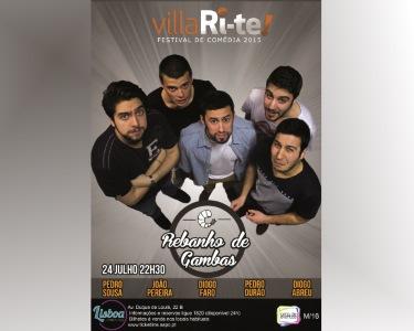 «Rebanho de Gambas» | 24 de Julho | VillaRi-te | Lisboa Comedy Club