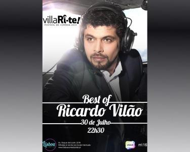 «Best of Ricardo Vilão» | 30 de Julho | VillaRi-te | Lisboa Comedy Club