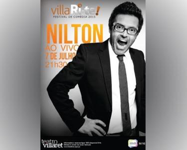 Nilton ao Vivo | 7 de Julho | VillaRi-te | Teatro Villaret