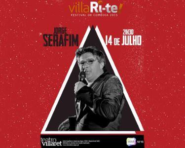 Serafim ao Vivo | 14 de Julho | VillaRi-te | Teatro Villaret