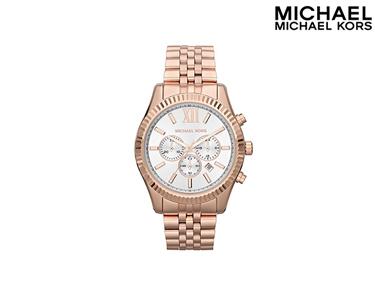 Relógio Mickael Kors® | Rose Gold & Branco