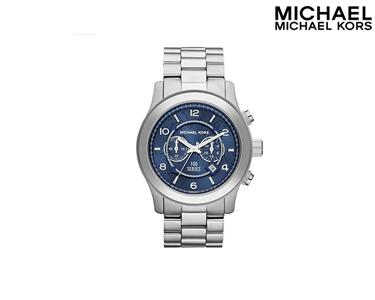 Relógio Mickael Kors® | Prateado & Azul