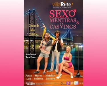 «Sexo, Mentiras e Castings» | VillaRi-Te | Sextas-Feiras no Villaret