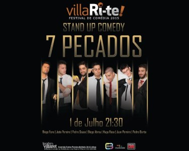 «7 Pecados» | 01 de Julho | VillaRi-te | Teatro Villaret