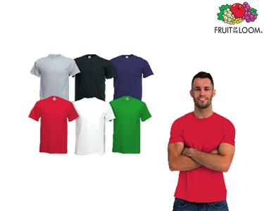 Conjunto 6 T-shirts Fruit of the Loom®   Para Homem