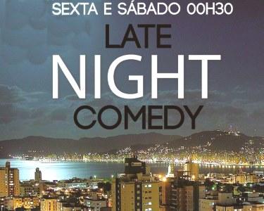 Bilhete Duplo «Late Night Comedy» | Vários Comediantes | Lisboa Comedy Club
