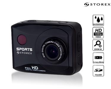 Câmara Desportiva Digital Xtrem + Acessórios | by Storex®