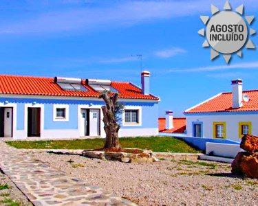 Férias 2 a 7 Noites em Apartamento no Alentejo Litoral - Casas de Miróbriga