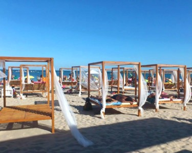 Dia Romântico na Praia | Cama + Tosta + 1,5 L Sangria a 2 | Portofino