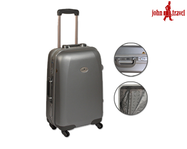 Mala Cabine Size John Travel®   Prateada