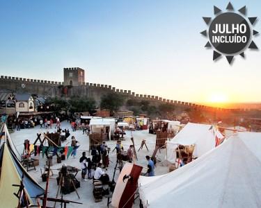 Noite a Dois & Entradas no Mercado Medieval Óbidos | A Coutada