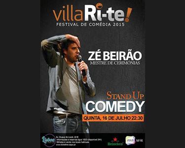 «Zé Beirão» | 16 Julho | VillaRi-te Lisboa Comedy Club