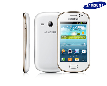 Smartphone Samsung Galaxy Fame   Branco