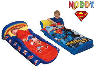 Cama de Viagem Infantil do Noddy ou SuperMan | Ideal para as Férias!