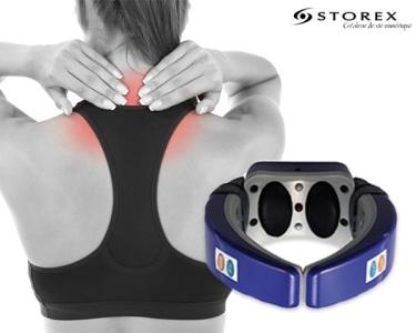 Massajador Terapêutico Vibratório 2 em 1 | Pescoço & Cervical