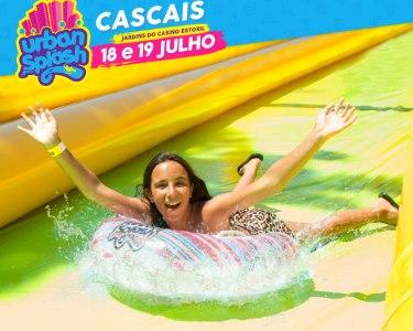 Urban Splash Cascais | O Escorrega Mais Louco! 18 e 19 de Julho