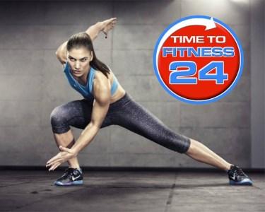 Time to Fitness | Livre-Trânsito 24h/dia | 1, 3 ou 6 Meses | 5 Locais