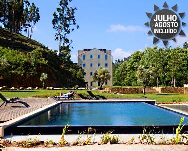 Top Relax a Dois! 3 ou 5 Nts c/ Massagem & Praia Fluvial no Duecitânia Design Hotel 4*