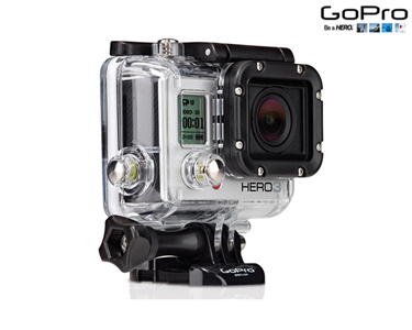 Câmara GoPro Hero3 Full HD Silver Edition