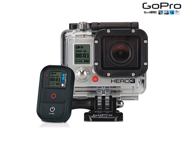 Câmara GoPro Hero3 Full HD Black Edition - Motorsports