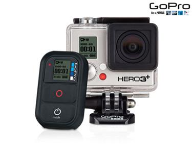 Câmara GoPro Hero3+  Full HD Silver Edition