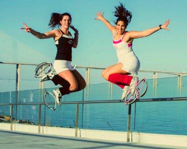 Fun Fitness a Dois! 4 Sessões de PT Kangoo Jumps + Consulta Nutrição