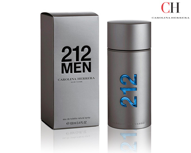 Perfume 212 For Men Carolina Herrera | Escolha o Seu