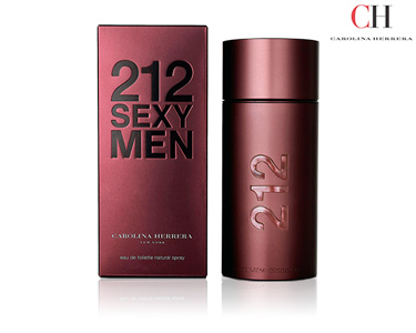 Perfume Carolina Herrera Sexy Men EDT 50ml