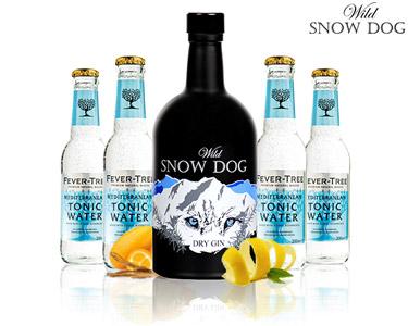 Pack Gin Premium da Serra da Estrela | Wild Snow Dog