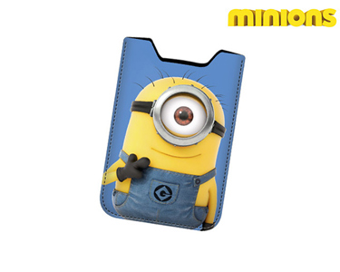 Capa de Telemóvel 13 cm | Minions Hello