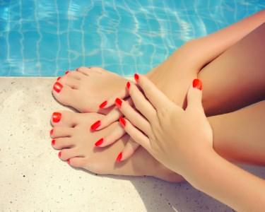 Summer Nails! Manicure & Pedicure na Secret Look! Bairro Azul