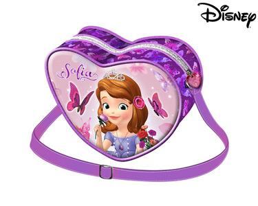 Bolsa Tiracolo Coração 20 cm | Princesa Sofia Flowers
