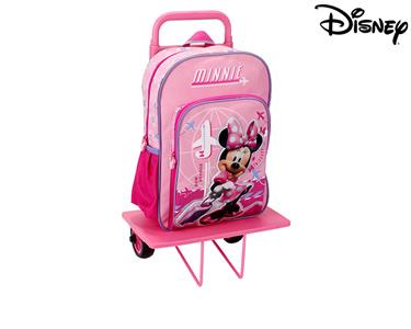 Mochila com Trolley 38 cm Minnie | Bon Voyage