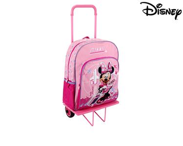 Mochila com Trolley 41 cm Minnie | Bon Voyage