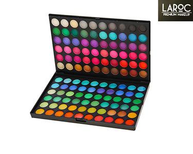 Conjunto de Make Up com 120 Sombras | Tons Coloridos ou Naturais