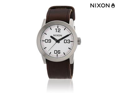 Relógio Nixon | Private Silver and Brown