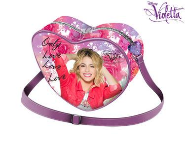 Bolsa Coração 20 cm | Violetta Soft Rose