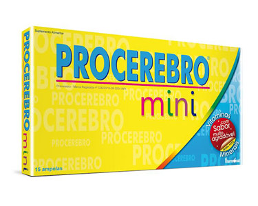 Procerebro Mini  | 15 Ampolas