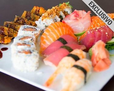 Festim de Sushi com 42 Peças, Sangria & Sobremesa | 2 ou 4 Pessoas
