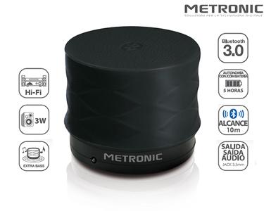 Mini Coluna Bluetooth Extra Bass | Alcance até 10 Metros