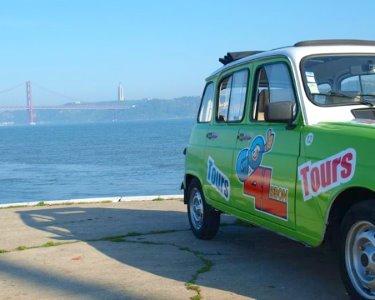 Romance Clássico! Passeio de Renault 4L + Pastéis de Nata a 2 | Lisboa