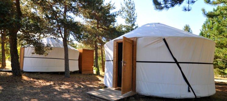 Escapadinha em Yurt! 1 Noite no Vale do Rossim Eco Resort