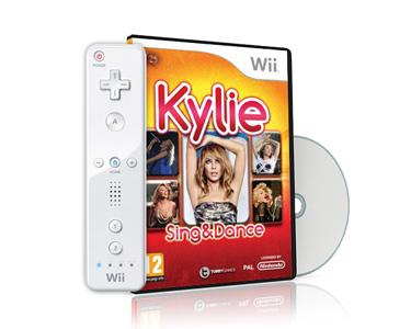 Jogo Wii Kylie Sing & Dance + Comando Wii