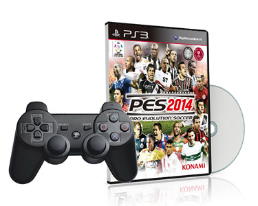 Jogo PS3 PES 2014 + Comando